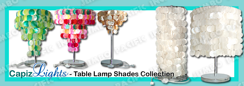 Table Lamp Shades Collection